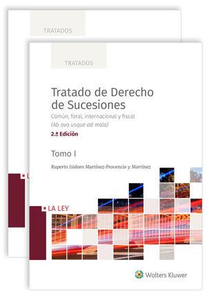 TRATADO DE DERECHO DE SUCESIONES (2 VOLÚMENES) 2ª EDICIÓN