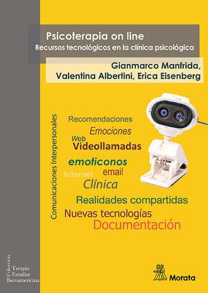 PSICOTERAPIA ON LINE. RECURSOS TECNOLOGICOS EN LA CLINICA PSICOLO