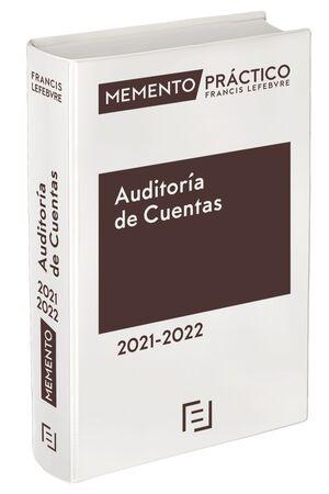 MEMENTO PRÁCTICO. AUDITORÍA DE CUENTAS 2021-2022