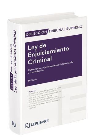 LEY DE ENJUICIAMIENTO CRIMINAL 8ª EDICIÓN