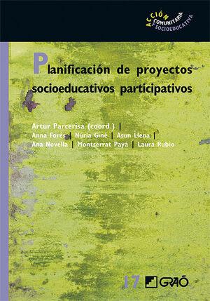 PLANIFICACION DE PROYECTOS SOCIOEDUCATIVOS PARTICIPATIVOS