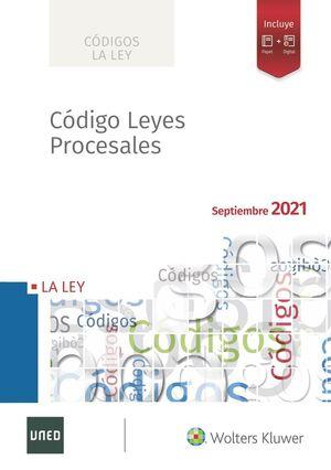 CÓDIGO DE LEYES PROCESALES 2021