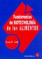 FUNDAMENTOS DE BIOTECNOLOGÍA DE LOS ALIMENTOS