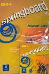 SPRINGBOARD 4 ESO STUDENTS' BOOK + CDROM