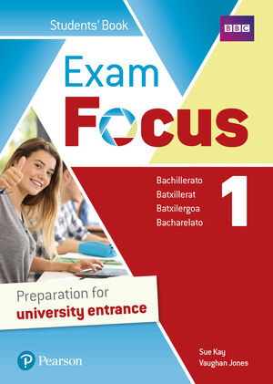 EXAM FOCUS 1 STUDENT'S BOOK WITH LEARNING AREA
