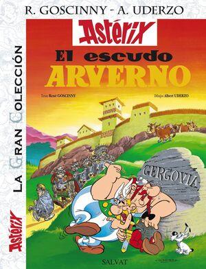 EL ESCUDO ARVERNO. ASTERIX