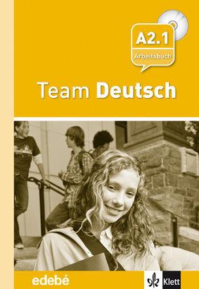 TEAM DEUSTCH 3 ARBEITSBUCH - CUADERNO DE EJERCICIOS + CD NIVEL A2.1