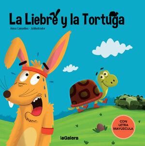 LA LIEBRE Y LA TORTUGA    (CON LETRA MAYUSCULA)