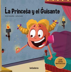 LA PRINCESA Y EL GUISANTE    (CON LETRA MAYUSCULA)