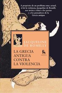 LA GRECIA ANTIGUA CONTRA LA VIOLENCIA
