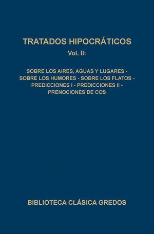 090. TRATADOS HIPOCRÁTICOS VOL. II