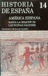 AMERICA HISPANA (HASTA CREACION NUEVAS NACIONES