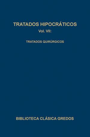 TRATADOS HIPOCRÁTICOS VOL. VII