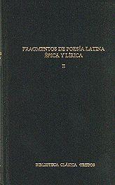 FRAGMENTOS POESIA LATINA ÉPICA Y LÍRICA II