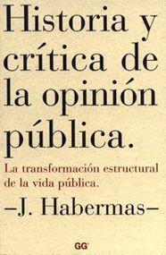 HISTORIA CRITICA DE LA OPINION PUBLICA