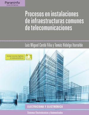 PROCESOS EN INSTALACIONES DE INFRAESTRUCTURAS COMUUNES DE TELECOMUNICA