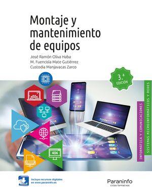 MONTAJE Y MANTENIMIENTO DE EQUIPOS, 3.ª EDICIÓN 2019