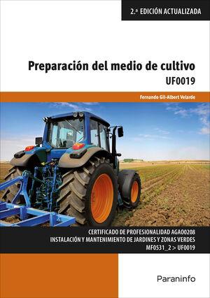 PREPARACION DEL MEDIO DE CULTIVO UF0019