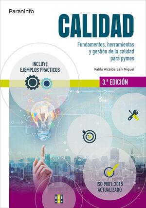 CALIDAD FUNDAMENTOS HERRAMIENTAS Y GESTION DE CLIDAD EN PYMES