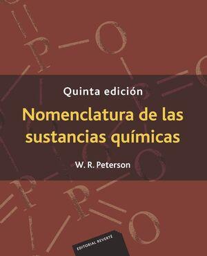 NOMENCLATURA DE LAS SUSTANCIAS QUIMICAS 5'ED