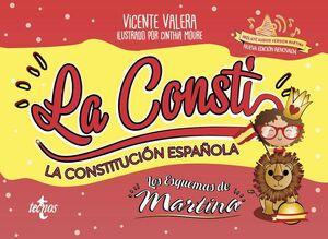 CONSTITUCIÓN ESPAÑOLA. LOS ESQUEMAS DE MARTINA