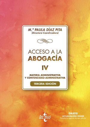 ACCESO A LA ABOGACÍA-IV