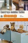 CONSTRUYA MODELOS FACILES DE ALMACENAJE