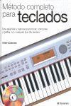 MÉTODO COMPLETO PARA TECLADOS (1 TOMO + 1 CD)