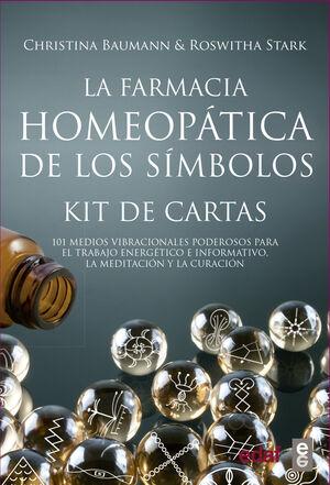 LA FARMACIA HOMEOPÁTICA DE LOS SÍMBOLOS (KIT DE CARTAS), 101 MEDIOS VIBRACIONALES PODEROSOS PARA EL TRABAJO ENERGETICO E INFORMATIVO, LA MEDITACION Y CURACIÓN
