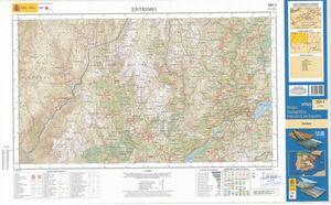 MTN 25. HOJA 301-I, ENTRIMO (ED. 2014)