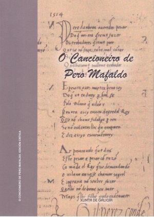 CANCIONEIRO DE PERO MAFALDO, O. EDICION CRITICA