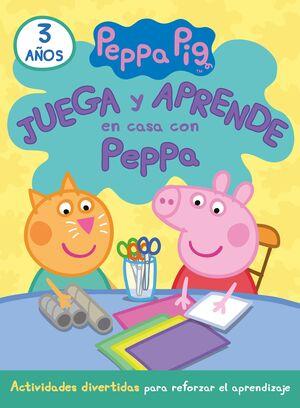 JUEGA Y APRENDE EN CASA CON PEPPA (3 AÑOS). TU CUADERNO DE VACACIONES