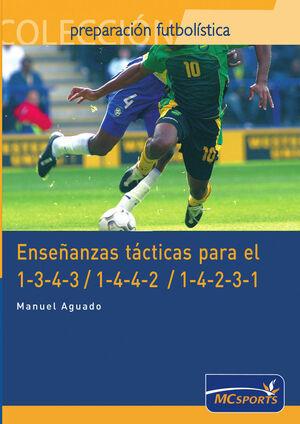 ENSEÑANZAS TÁCTICAS PARA EL 1-3-4-3/ 1-4-4-2 Y 1-4-2-3-1