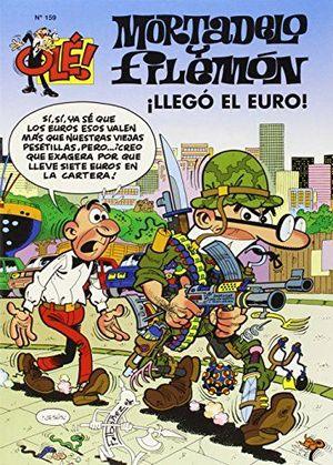 OLE MORTADELO,159 LLEGO EL EURO