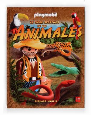 GRAN AVENTURA DE LOS ANIMALES PLAYMOBIL