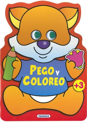 PEGO Y COLOREO ANIMALES (ZORRO)