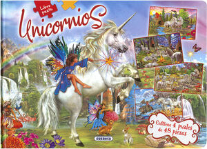 UNICORNIOS (LIBRO PUZLE)