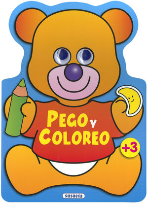 PEGO Y COLOREO ANIMALES (OSO)