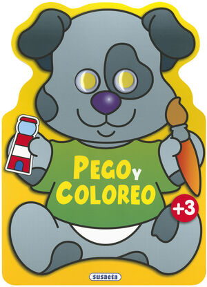 PEGO Y COLOREO ANIMALES (PERRO)
