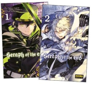 PACK INICIACION SERAPH OF THE END 1+2