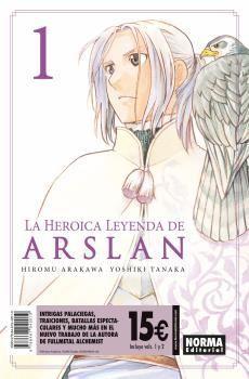 PACK DE INICIACION LA HEROICA LEYENDA DE ARSLAN 1+2
