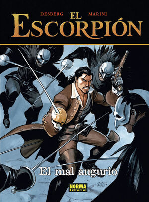 EL ESCORPION 12. EL MAL AUGURIO. CARTONÉ