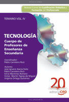 TEMARIO VOL. IV TECNOLOGIA. PROFESORES ENSEÑANZA SECUNDARIA