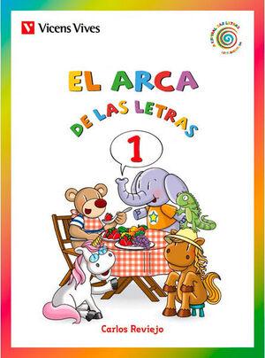 LA ESPIRAL DE LAS LETRAS, EL ARCA DE LAS LETRAS, LETRAS 1 (E, O, A, I,
