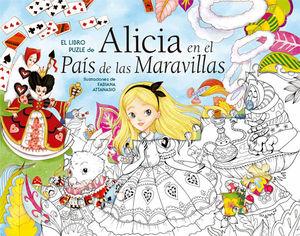 EL LIBRO PUZLE DE ALICIA EN EL PAÍS DE LAS MARAVILLAS