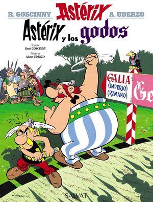 ASTÉRIX Y LOS GODOS (ASTÉRIX, 3)