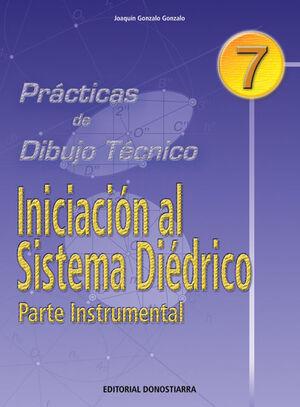 PRÁCTICAS DE DIBUJO N. 7 INICIACION SISTEMA DIÉDRICO