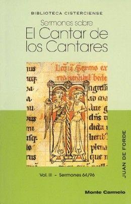 SERMONES SOBRE EL CANTAR DE LOS CANTARES III