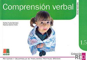 COMPRENSIÓN VERBAL. INICIACION 1.5