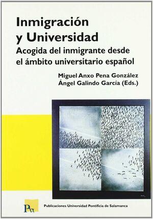 INMIGRACION Y UNIVERSIDAD. ACOGIDA INMIGRANTE AMBITO UNIVERSITARIO ESP